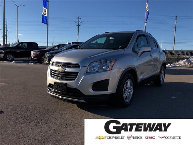 2016 Chevrolet Trax LT|-remote start, back up camera, bluetooth (Stk: 246989A) in BRAMPTON - Image 1 of 16