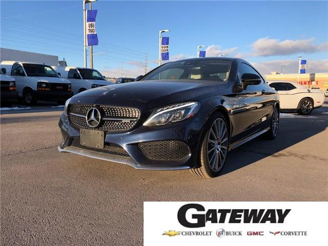 2017 Mercedes-Benz C-Class AMG 43 ACCIDENT FREE NAVIGATION CAMERA ONE OWNER  (Stk: PL17646) in BRAMPTON - Image 1 of 18