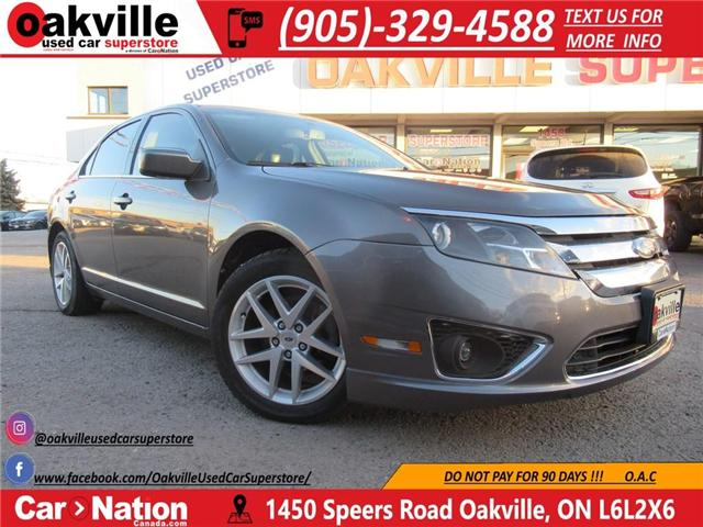 2011 Ford Fusion SEL AWD | B/U SENSORS | LEATHER | SUNROOF (Stk: DR445) in Oakville - Image 1 of 24