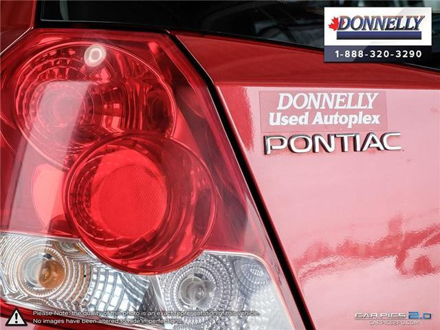 2006 Pontiac Wave 5 Uplevel (Stk: PBWDUR5865A) in Ottawa - Image 11 of 28