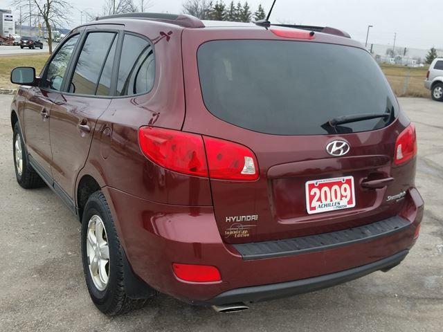 2009 Hyundai Santa Fe GL (Stk: L856A) in Milton - Image 2 of 11