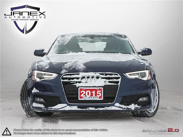 2015 Audi A5 2.0T Progressiv (Stk: 18443) in Ottawa - Image 2 of 27