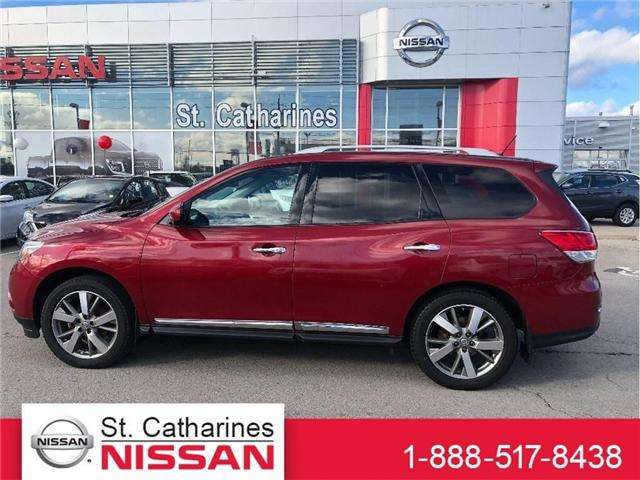 2014 Nissan Pathfinder Platinum (Stk: PF18051A) in St. Catharines - Image 1 of 24