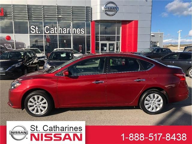 2017 Nissan Sentra 1.8 SV (Stk: SSP-154) in St. Catharines - Image 1 of 20