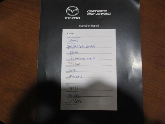 2015 Mazda Mazda3 GS (Stk: U3691) in Kitchener - Image 4 of 30