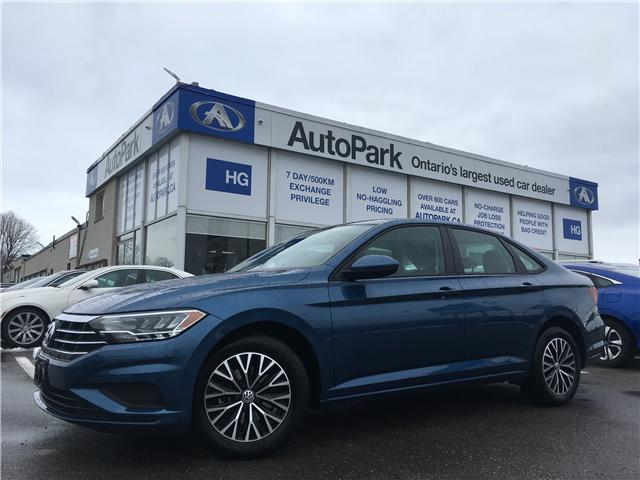 2019 Volkswagen Jetta 1.4 TSI Highline (Stk: 19-37531) in Brampton - Image 1 of 27