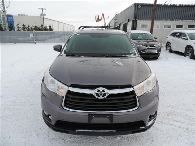 2015 Toyota Highlander XLE (Stk: 185541) in Brandon - Image 1 of 23