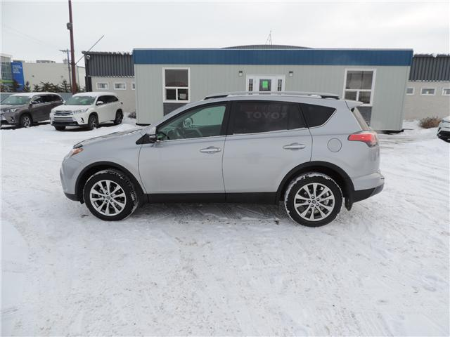 2018 Toyota Rav4 Limited Local One Owner Leather Heated Seats