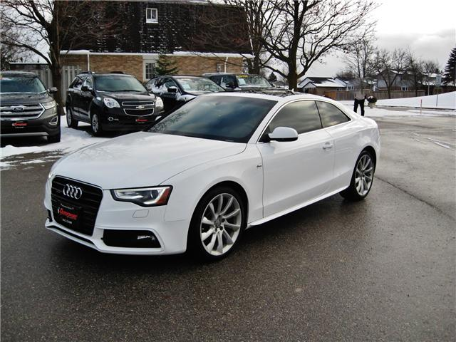 2014 Audi A5 2.0 Progressiv (Stk: 1437) in Orangeville - Image 2 of 19