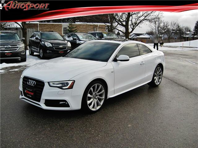 2014 Audi A5 2.0 Progressiv (Stk: 1437) in Orangeville - Image 1 of 19