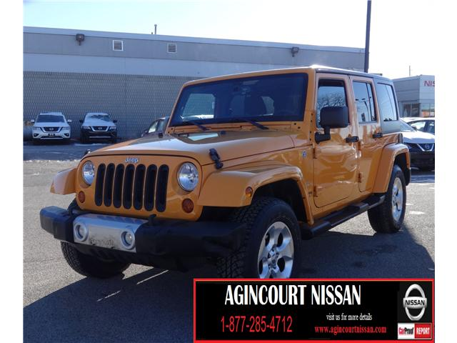 2013 Jeep Wrangler Unlimited Sahara (Stk: U12335A) in Scarborough - Image 1 of 21