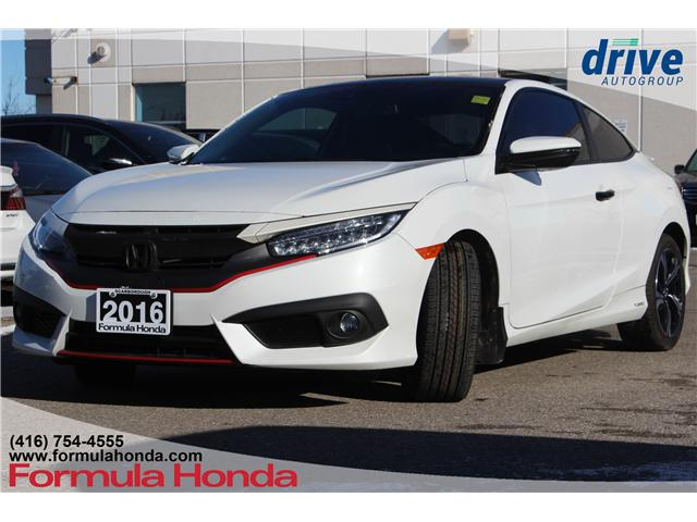 2016 Honda Civic Touring (Stk: B10734A) in Scarborough - Image 1 of 21