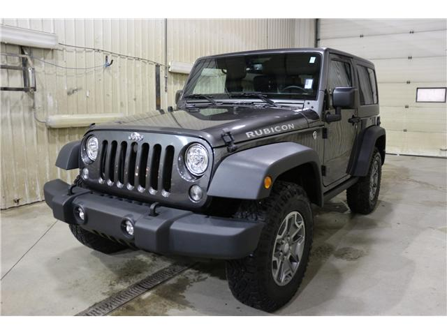 2017 Jeep Wrangler Rubicon (Stk: JP022) in Rocky Mountain House - Image 1 of 23