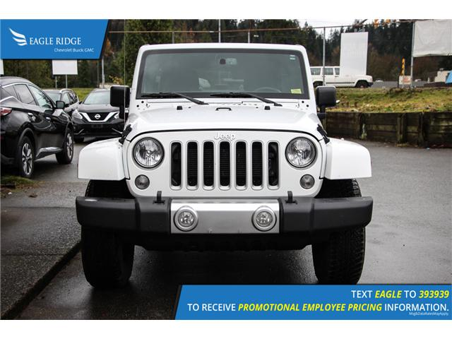 2018 Jeep Wrangler JK Unlimited Sahara (Stk: 189258) in Coquitlam - Image 2 of 6