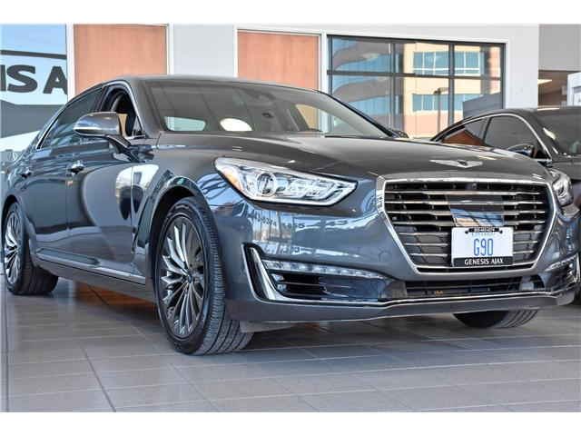 2017 Genesis G90 5.0 Ultimate (Stk: G17014) in Ajax - Image 1 of 19
