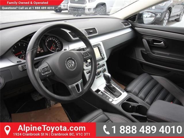 2015 Volkswagen CC Sportline (Stk: W730740A) in Cranbrook - Image 9 of 19