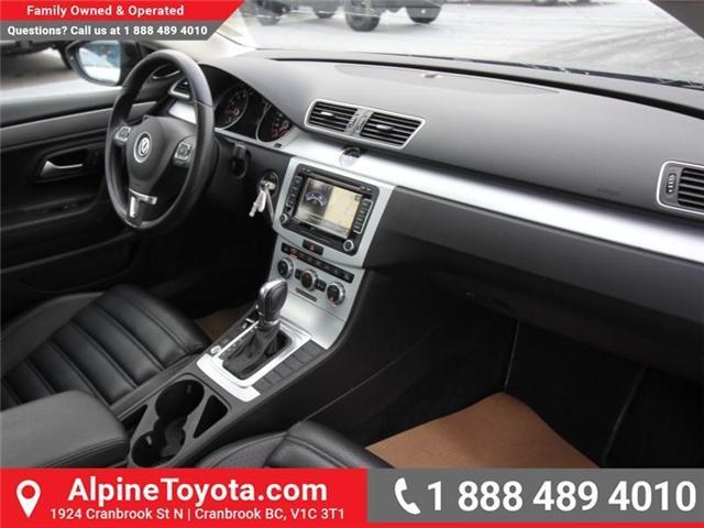 2015 Volkswagen CC Sportline (Stk: W730740A) in Cranbrook - Image 11 of 19