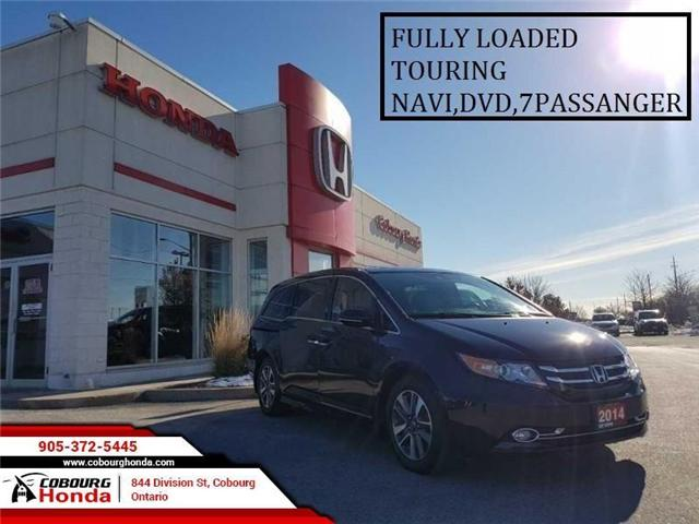 2014 Honda Odyssey Touring (Stk: G1732) in Cobourg - Image 1 of 17