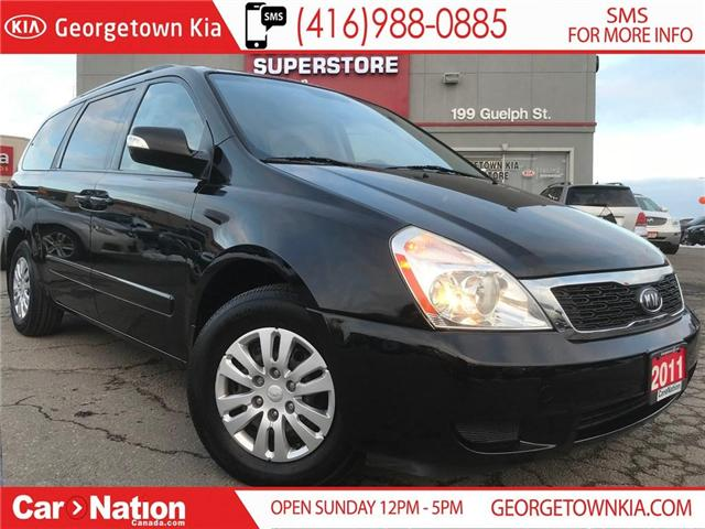 2011 Kia Sedona LX CONVENIENCE | CAPTAIN CHAIRS | HTD SEATS | (Stk: SD19044A) in Georgetown - Image 1 of 25