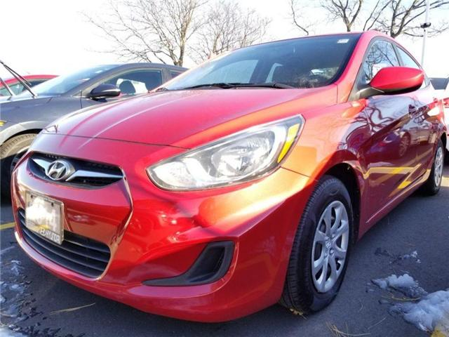 2014 Hyundai Accent GL-sedan GREAT DEAL..CALL US NOW!!! (Stk: op10041) in Mississauga - Image 1 of 15