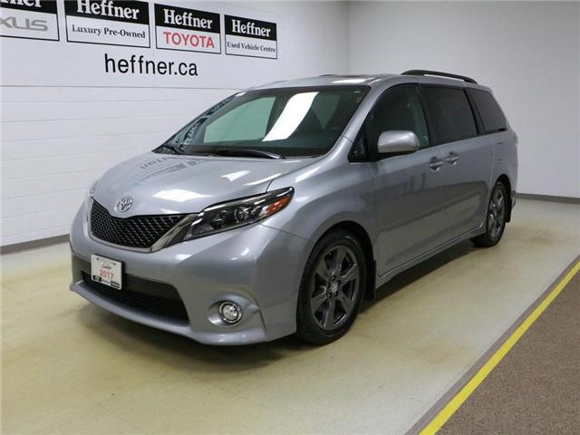 2017 Toyota Sienna SE 8 Passenger (Stk: 186391) in Kitchener - Image 1 of 29