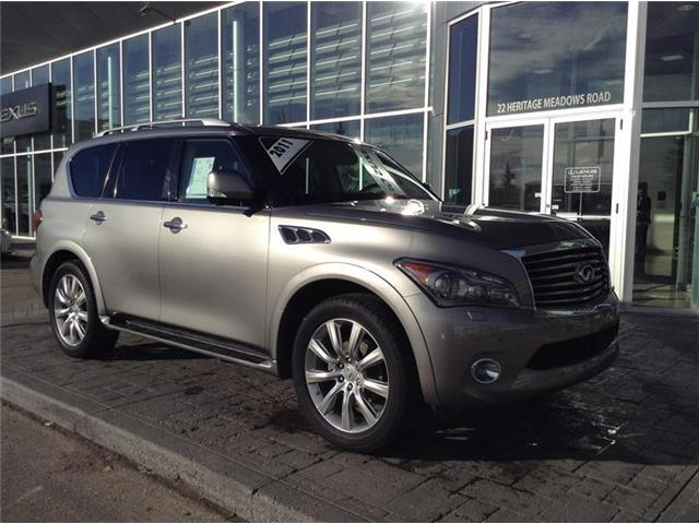 2011 Infiniti QX56 Base (Stk: 190168A) in Calgary - Image 2 of 12