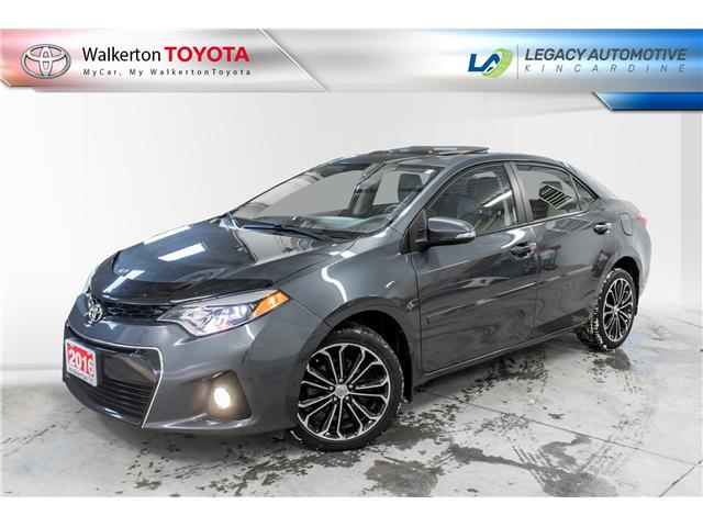 2016 Toyota Corolla S (Stk: P8198) in Walkerton - Image 1 of 21