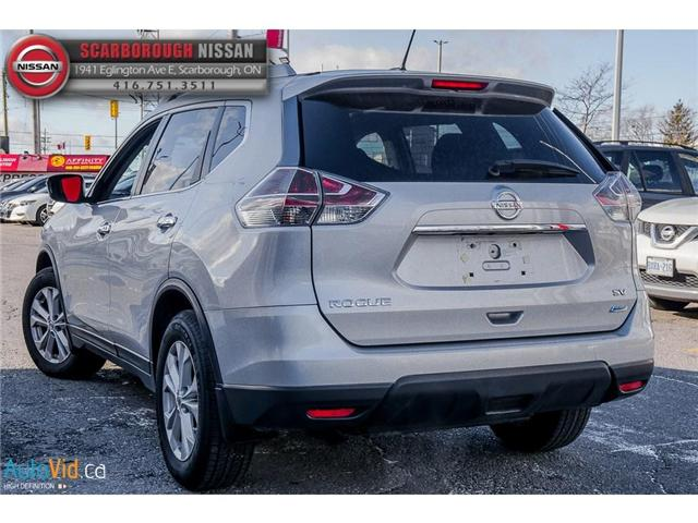 2014 Nissan Rogue  (Stk: Y18206A) in Scarborough - Image 6 of 24
