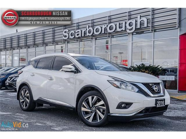 2016 Nissan Murano  (Stk: L18012A) in Scarborough - Image 1 of 24