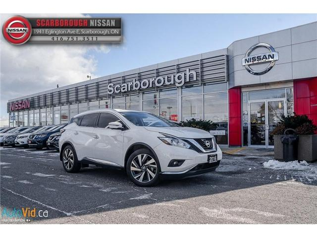 2016 Nissan Murano  (Stk: L18012A) in Scarborough - Image 2 of 24