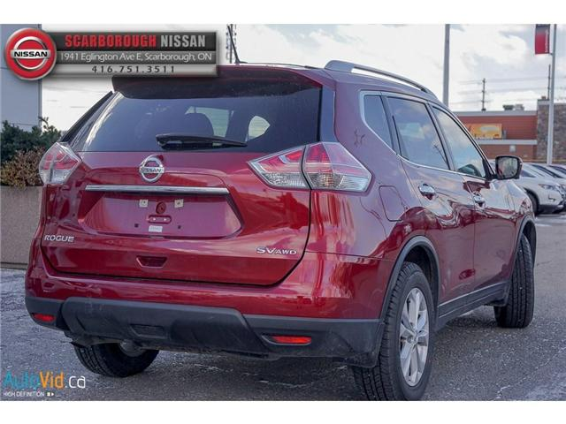 2016 Nissan Rogue  (Stk: W18019A) in Scarborough - Image 4 of 23
