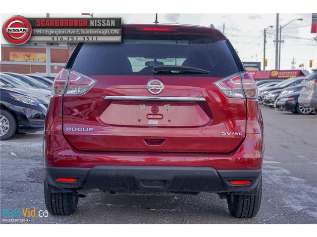 2016 Nissan Rogue  (Stk: W18019A) in Scarborough - Image 5 of 23