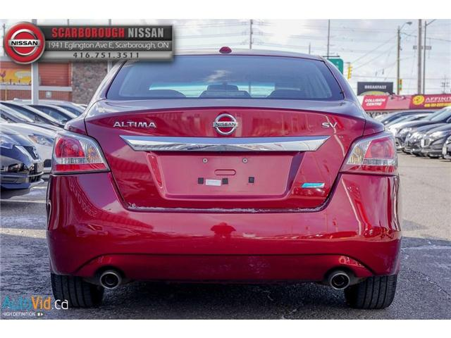 2013 Nissan Altima 2.5 S (Stk: S18007A) in Scarborough - Image 6 of 25