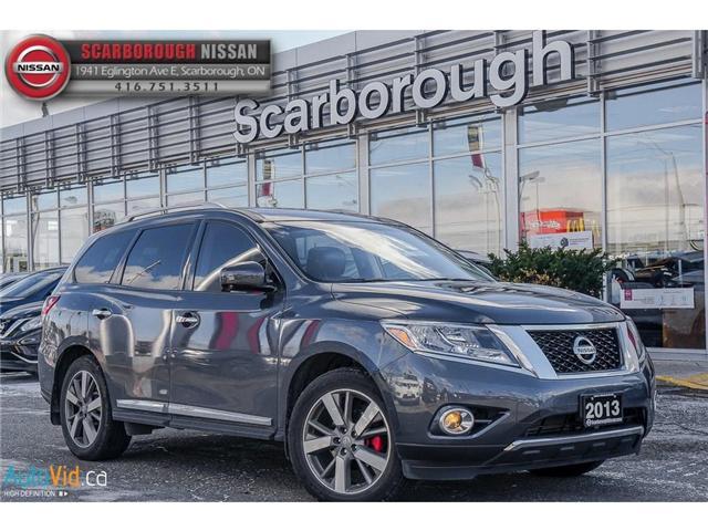 2013 Nissan Pathfinder Platinum (Stk: W18026A) in Scarborough - Image 1 of 24