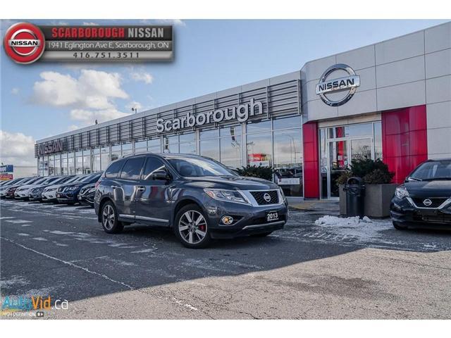 2013 Nissan Pathfinder Platinum (Stk: W18026A) in Scarborough - Image 2 of 24