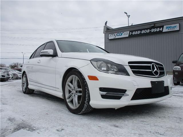 2014 Mercedes-Benz C-Class Base (Stk: 181827) in Kingston - Image 1 of 14