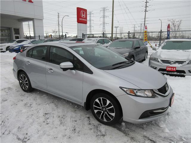 2014 Honda Civic EX (Stk: SS3265) in Ottawa - Image 2 of 8