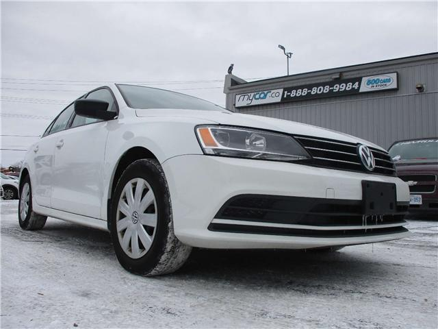 2015 Volkswagen Jetta 2.0L Trendline (Stk: 181837) in Kingston - Image 1 of 12