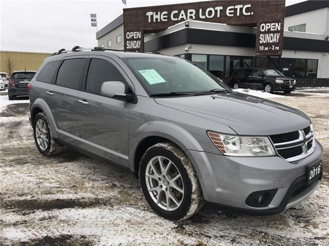 2016 Dodge Journey R/T (Stk: 18640) in Sudbury - Image 1 of 15