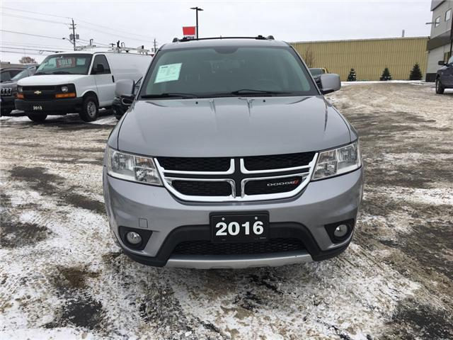 2016 Dodge Journey R/T (Stk: 18640) in Sudbury - Image 2 of 15