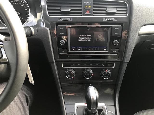 2018 Volkswagen Golf SportWagen 1.8 TSI Comfortline (Stk: 10198) in Lower Sackville - Image 16 of 21