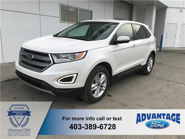 2015 Ford Edge SEL (Stk: J-317B) in Calgary - Image 1 of 18