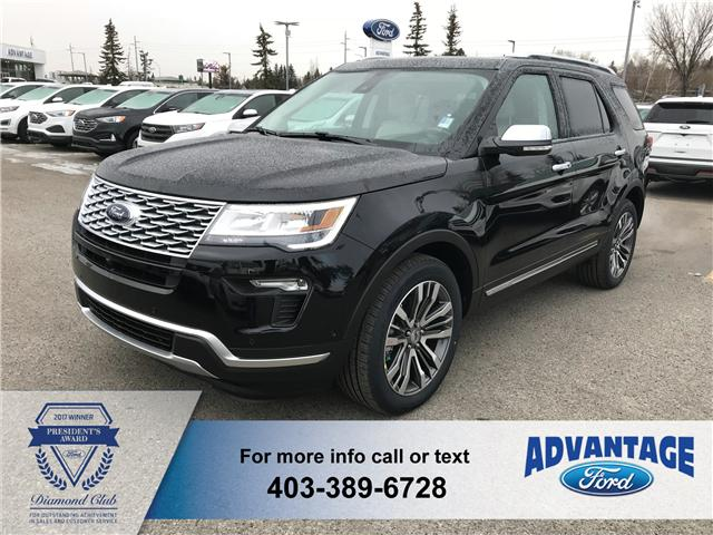 2019 Ford Explorer Platinum (Stk: K-211) in Calgary - Image 1 of 5