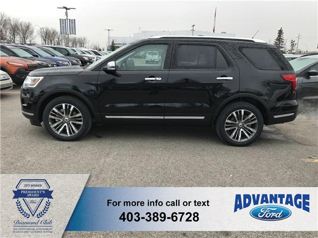 2019 Ford Explorer Platinum (Stk: K-211) in Calgary - Image 2 of 5