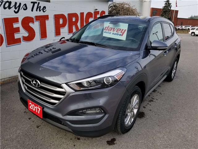 2017 Hyundai Tucson Premium (Stk: 18-645) in Oshawa - Image 1 of 17