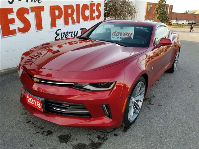 2018 Chevrolet Camaro 2LT (Stk: 18-499) in Oshawa - Image 1 of 16