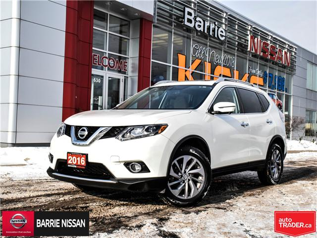 2016 Nissan Rogue SL Premium (Stk: P4515) in Barrie - Image 1 of 27
