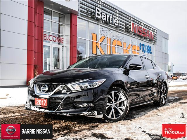2017 Nissan Maxima Platinum (Stk: 18121A) in Barrie - Image 1 of 28