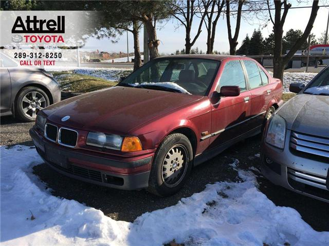 1995 BMW 3-SERIES 325I LEATHER, SUNROOF, ALLOYS, POWER HEATED SEAT,  (Stk: 42140A) in Brampton - Image 1 of 7