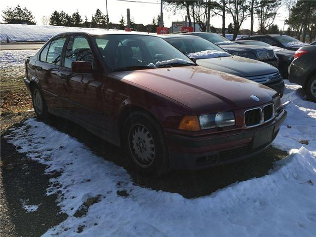 1995 BMW 3-SERIES 325I LEATHER, SUNROOF, ALLOYS, POWER HEATED SEAT,  (Stk: 42140A) in Brampton - Image 2 of 7